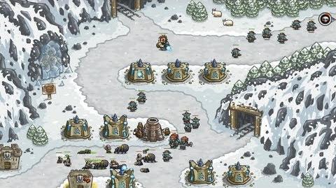Kingdom Rush HD (Level 8 Icewind Pass) Heroic