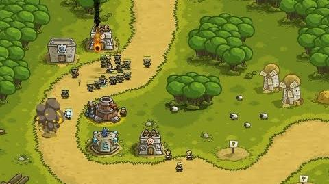 Kingdom Rush HD (Level 1 Southport) Campaign only 3 StarS - Preview Game