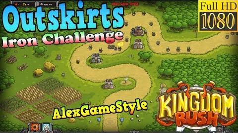 Kingdom Rush HD - Outskirts Iron Challenge (Level 2)