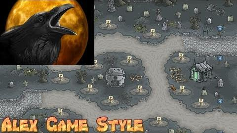 Kingdom Rush HD Achievement Nevermore Capture the Attention of the Mysterious Crow