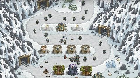 Kingdom Rush HD (Level 7 Coldstep Mines) Iron Challenge
