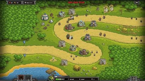Kingdom Rush HD (Level 3 Pagras) Campaign only 3 StarS