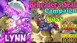 Kingdom Rush Origins HD - BOSS Bram the Beheader Beheader's Seat Campaign (Level 20) Hero Lynn