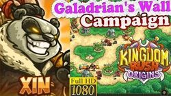 Kingdom Rush Origins HD - Galadrian's Wall Campaign (Level 16) Hero Xin