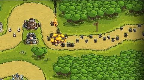 Kingdom Rush HD (Level 2 Outskirts) Campaign only 3 StarS