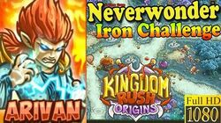 Kingdom Rush Origins HD - Neverwonder Iron (Level 10) Hero Arivan