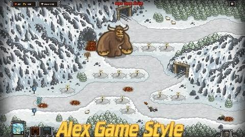 Kingdom Rush HD Like A Henderson Free the Sasquatch on the Icewind Pass