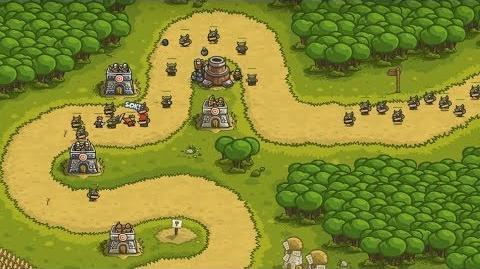Kingdom Rush HD (Level 2 Outskirts) Iron Challenge