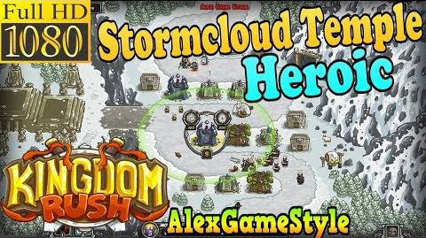 Kingdom Rush HD - Stormcloud Temple Heroic (Level 9)