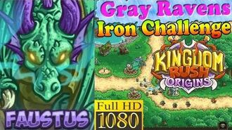 Kingdom Rush Origins HD - Gray Ravens Iron (Level 1) Hero Faustus