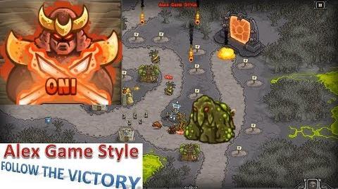 Kingdom Rush HD (Bonus Premium Level 23 Rotten Forest) Heroic Hero - Oni