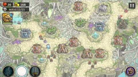 Video - Kingdom Rush Origins Gameplay Mactans Retreat