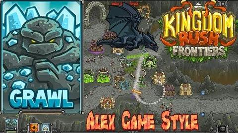 Kingdom Rush Frontiers HD Beresad's Lair Campaign Level 13 Hero Grawl