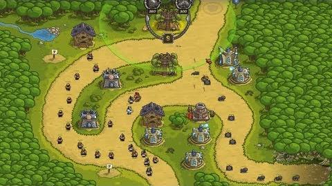 Kingdom Rush HD (Level 5 Silveroak Forest) Iron Challenge