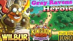 Kingdom Rush Origins HD - Gray Ravens Heroic (Level 1) Hero Wilbur