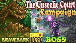 Kingdom Rush Origins HD - BOSS Malicia The Unseelie Court Campaign (Level 11) Hero Bravebark