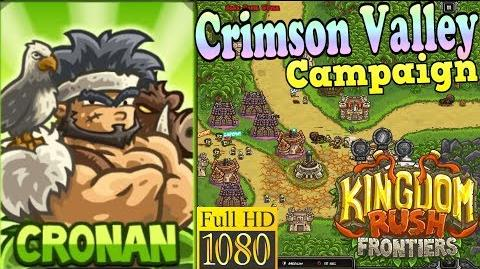 Kingdom Rush Frontiers HD - Crimson Valley Campaign (Level 7) Hero Cronan
