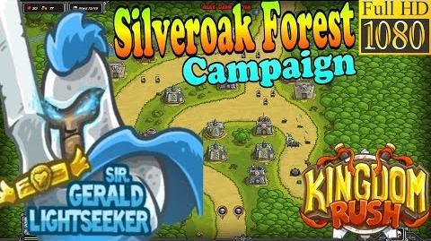 Kingdom Rush HD - Silveroak Forest Campaign (Level 5) Hero - Sir