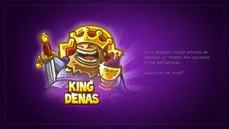 King Denas Card