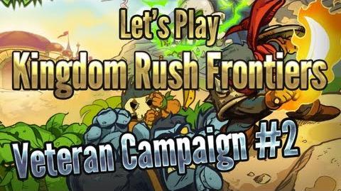 Kingdom Rush Frontiers - Sandhawk Hamlet (Level 2) - 3 Stars Veteran Campaign - iOS Game Walkthrough