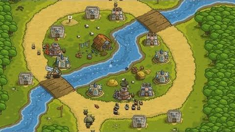 Kingdom Rush HD (Level 4 Twin Rivers) Heroic