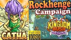 Kingdom Rush Origins HD - Rockhenge Campaign (Level 7) Hero Catha