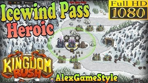 Kingdom Rush HD - Icewind Pass Heroic (Level 8)