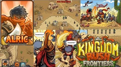 Kingdom Rush Frontiers HD Hammerhold Campaign Level 1 Hero Alric