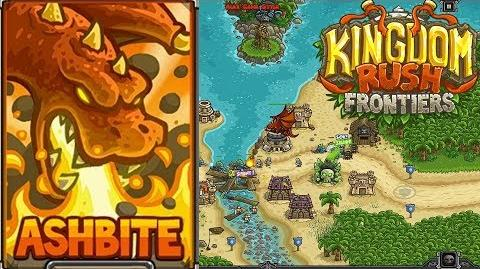 Kingdom Rush Frontiers HD Port Tortuga Campaign Level 16 Hero Ashbite