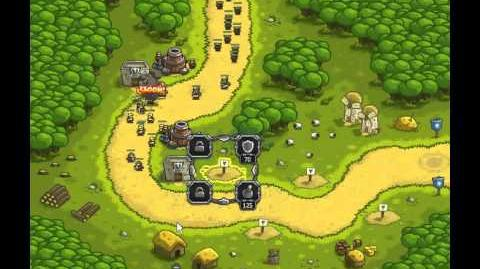 Kingdom Rush - Southport (Level 1) - Iron Challenge - normal difficulty