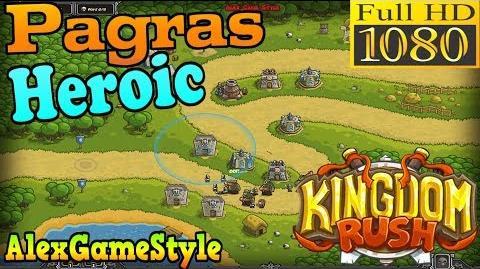 Kingdom Rush HD - Pagras Heroic (Level 3)