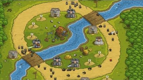 Kingdom Rush HD (Level 4 Twin Rivers) Iron Challenge