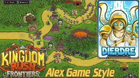 Kingdom Rush Frontiers HD Ma'qwa Urgu Campaign Level 10 Hero Dierdre