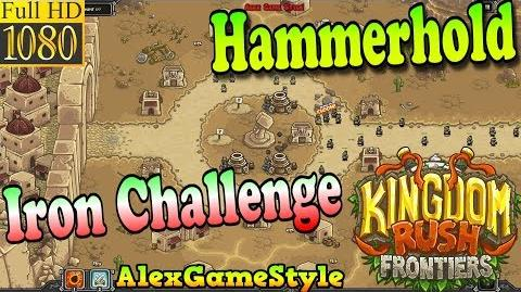 Kingdom Rush Frontiers HD - Hammerhold Iron Challenge (Level 1)