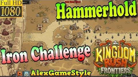 Kingdom Rush Frontiers HD - Hammerhold Iron Challenge (Level 1)