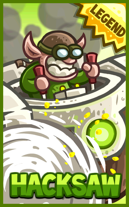 Hacksaw | Kingdom Rush Wiki | FANDOM powered by Wikia