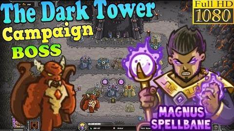 Kingdom Rush HD - Final BOSS Vez'nan The Dark Tower Campaign (Level 12) Hero - Magnus Spellbane