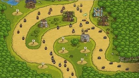 Kingdom Rush HD (Level 5 Silveroak Forest) Heroic