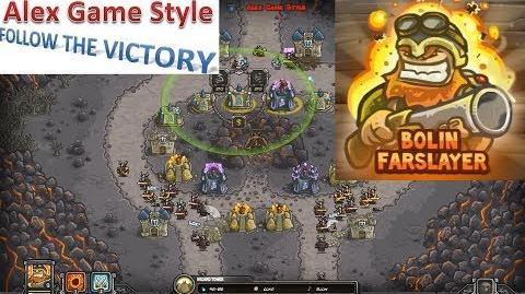 Kingdom Rush HD (Level 11 Forsaken Valley) Iron Challenge Hero - Bolin Farslayer