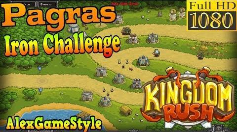 Kingdom Rush HD - Pagras Iron Challenge (Level 3)