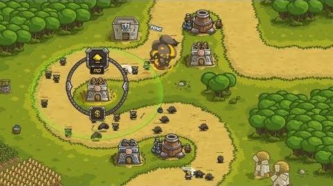 Kingdom Rush HD (Level 2 Outskirts) Heroic