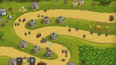 Kingdom Rush HD (Level 3 Pagras) Iron Challenge