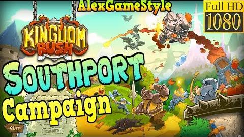 Kingdom Rush HD - Southport Campaign (Level 1) only 3 StarS - Preview Game