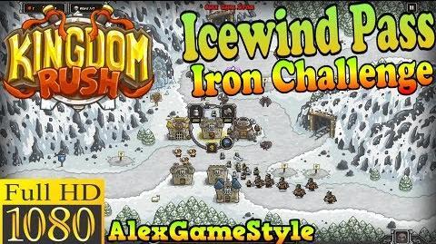 Kingdom Rush HD - Icewind Pass Iron Challenge (Level 8)