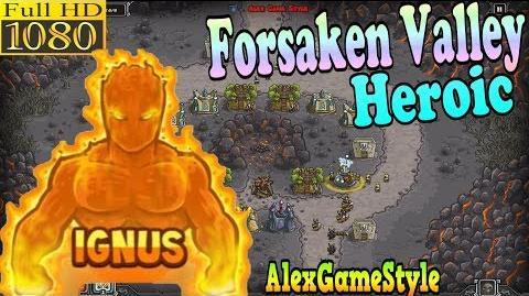 Kingdom Rush HD - Forsaken Valley Heroic (Level 11) Hero - Ignus