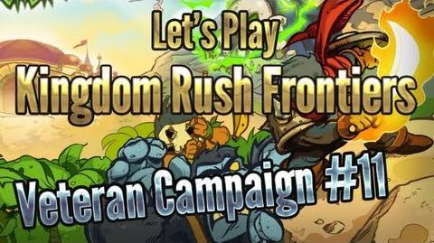 Kingdom Rush Frontiers - Temple of Saqra (Level 11) - 3 Stars Veteran Campaign - iOS Walkthrough