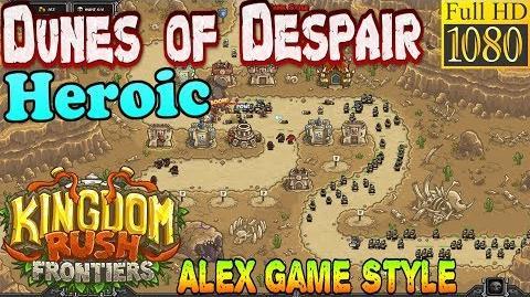 Kingdom Rush Frontiers HD - Dunes of Despair Heroic (Level 4)