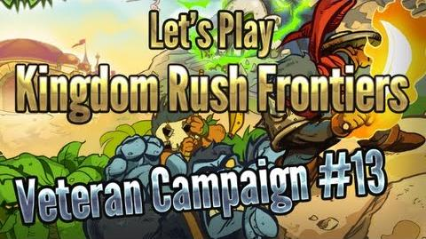 Kingdom Rush Frontiers - Beresad's Lair (Level 13) - 3 Stars Veteran Campaign - iOS Game Walkthrough
