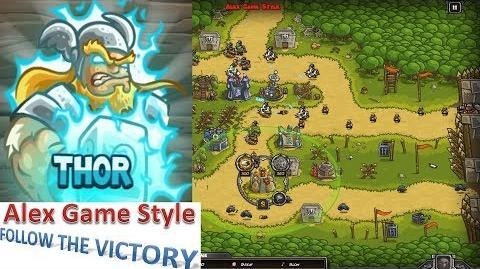 Kingdom Rush HD (Bonus Premium Level 15 Bandit's Lair) Heroic Hero - Thor