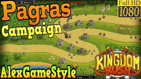 Kingdom Rush HD Pagras Campaign (Level 3) only 3 StarS